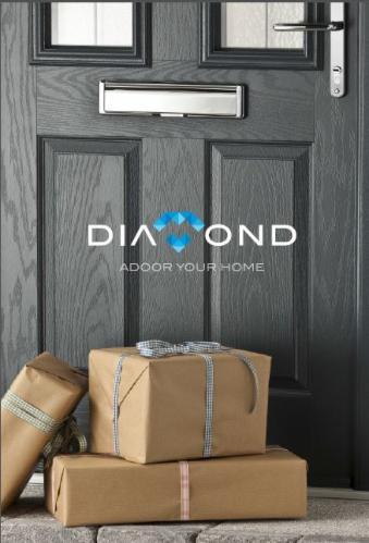 Diamond composite getty glass composite door showroom for Upvc french doors northern ireland